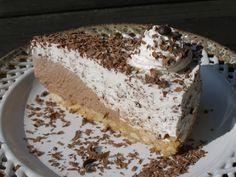 Nepečený Stracciatella dort recept - TopRecepty.cz Sweet Recipes, Cake Recipes, Dessert Recipes, Desserts, Ice Cream Candy, Pavlova, Cake Cookies, No Bake Cake, Vanilla Cake