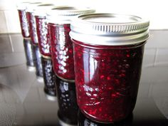 Bumbleberry Jam. A delicious jumble of blackberries, blueberries and raspberries!