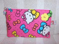 """Estojo """"Hello Kitty"""" ♥"""