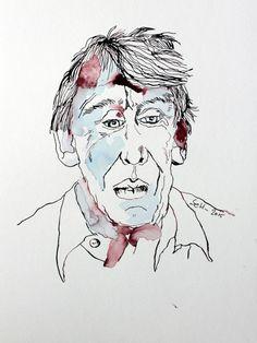Art Ink Drawing  Volker Bild 5, 40 x 30 cm (c) Zeichnung von Susanne Haun