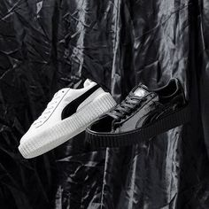 Elevate your style with the Rihanna x PUMA Fenty Creeper. Pic via @livestockcanada #sneakerfreaker #snkrfrkr #puma #rihanna #fenty  via SNEAKER FREAKER MAGAZINE OFFICIAL INSTAGRAM - Fashion  Advertising  Culture  Beauty  Editorial Photography  Magazine Covers  Supermodels  Runway Models