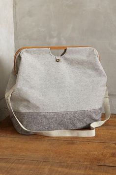 Canvas Hamper Tote - anthropologie.com