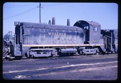 DIESEL Original 35mm-[Slide #1204]-1965 Montour Coraopolis, PA