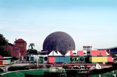 The Vienna Kindergarten at Expo 67 – Montreal, Canada Of Montreal, Montreal Canada, Old Photos, Vintage Photos, Antonio Gaudi, Expo 67, World's Fair, Clouds, Sky