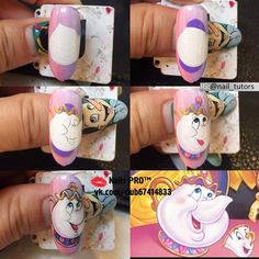 New fails design crazy art tutorials 31 ideas Nail Art Disney, Disney Nail Designs, Crazy Nail Designs, Halloween Nail Designs, Halloween Nails, Nail Art Dessin, Mickey Nails, Nail Drawing, Painted Nail Art