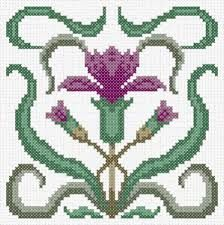 art deco cross stitch - Google Search