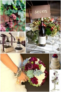 colors for a wine themed wedding | winery theme wedding « The Daily Design by Koyal Wholesale