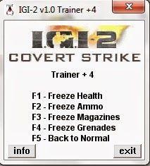 IGI2 Unlimited Ammo and Health