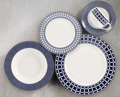 Service de vaisselle de 20 pièces Retro bleu 60$