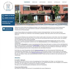 DELFTHAUS - Zentrum für Innere Medizin  Das Delfthaus – Zentrum für innere Medizin ist eine Gemeinschaftspraxis in Emden, die die Fachbereiche Bronchial- und Lungenheilkunde, Schlafmedizin, Allergologie sowie Rheumatologie abdeckt. Um dem Patienten einen optimalen Service bieten zu können, wurde die Homepage von Grund auf neu gestaltet.  Homepage: www.delfthaus.de  #deich8 #cms #design #emden #joomla #wordpress #drupal #nordic #opensource #seo #webdesign #website #2015 #delfthaus Delft, Lunge, Drupal, Wordpress, Mansions, House Styles, Sleep Medicine, Internal Medicine, Centre