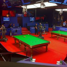 My view of the #snooker this morning.