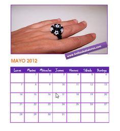 Calendario-Abalorios-mayo-2012 | Flickr - Photo Sharing!