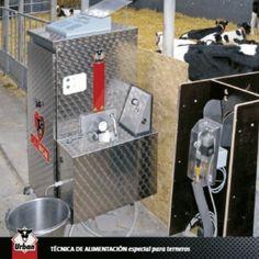 """Amamantador automático para terneros """"ALMA"""" de URBAN - Trazur Tienda. Primer almacén especializado en trazabilidad animal"""