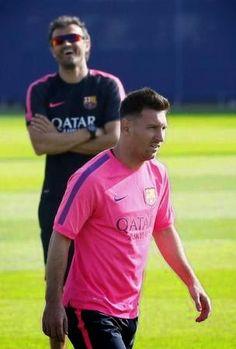 RADIO CORAZÓN  DEPORTIVO: FC BARCELONA: MESSI Y LUIS ENRIQUE, EN UNA TREGUA ...