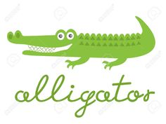 cute cartoon alligator - Google Search