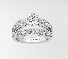 Bague Chaumet - Bague diadème Joséphine en platine, diamants
