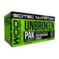 Unbroken Pak 6x1,  suplemento para deportista que concentra cinco productos en uno. Contiene beta alanina, una matriz de creatinas y otros componentes, BCAAs, carnitina y coenzima Q10. Te ayudarán a obtener el máximo en tus entrenamientos. http://www.naturmuscle.com/catalogo-formulas-especiales/712-unbroken-pak-6x1.html
