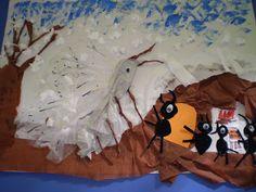 5ο ΝΗΠΙΑΓΩΓΕΙΟ ΚΑΛΑΜΑΤΑΣ- Μύθοι Αισώπου-ο τζίτζικας και ο μέρμηγκας-το χειμώνα!