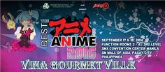 If cosplay is your thing, and you can't get enough of your favorite Japanese anime series, then get tickets for The Best of Anime 2016 now. The two-day event runs on September 17-18 at 3rd Level, SMX Convention Center. Vietnamese snacks and beverages are available to all participants are regular prices from ViNa Gourmet Ville!