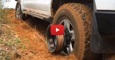 Detachable Spool Turns Truck Wheels Into Winch