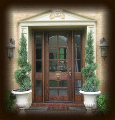 Single Front Doors With Glass 6-lite arch tdl mahogany wood slab: 3/0 x 6/8. unfinished mahogany