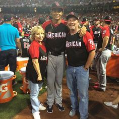 chris archer and family 2015, all star