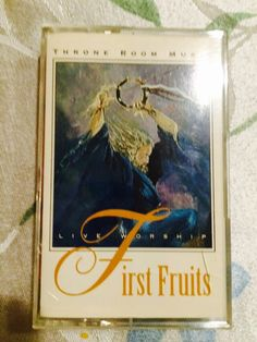 First fruits cassette  worship team I was part of made this music back in 1995 the cover drawing done by my pastor Danny Bonilla