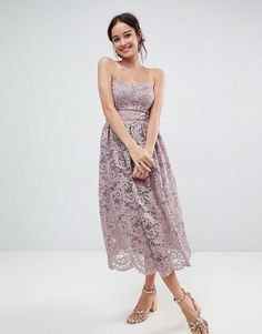 online shopping for ASOS DESIGN bandeau lace midi prom dress from top store. See new offer for ASOS DESIGN bandeau lace midi prom dress Lace Midi Dress, Pink Dress, Blush Cocktail Dress, Vestidos Color Rosa, Asos, Robes Midi, Strapless Dress Formal, Formal Dresses, Prom Dresses Online