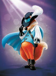 Mascot – illustration in Photoshop