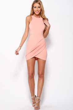 Acting Like That Dress, $55 + Free express shipping http://www.hellomollyfashion.com/acting-like-that-dress-pink.html