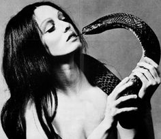 snake charmer lady