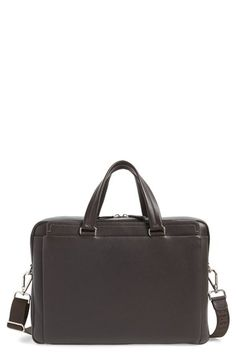 Salvatore+Ferragamo+Leather+Briefcase+available+at+#Nordstrom