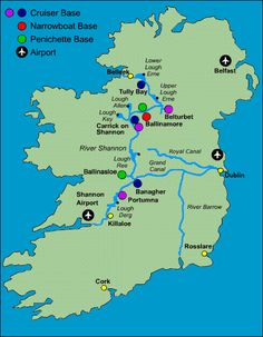 Boating holidays and canal cruises in Ireland