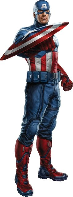 Captain America....ONE OF MY FAVORITE SUPER HEROS....JUST BECAUSE