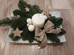 Advent, Christmas Crafts, Christmas Decorations, Table Centers, Christmas Is Coming, Creative Crafts, Table Centerpieces, Seasons, Holiday