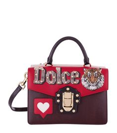 1665313606e Dolce  amp  Gabbana Double Sided Top Handle Bag