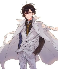 Y'all, I still can't get over how handsome Dazai looks in Dead Apple.
