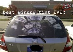 Star Wars window tint. :O!! #autism 'aspergers #geek #starwars