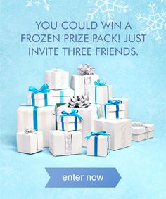 Frozen's coming to zulily on 8/28 but you can enter to win a $300 Frozen prize pack today! #zulily