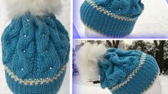 Lua Vintervals av Garnstikka Knitted Hats, Crochet Hats, Winter Hats, Knitting, Fashion, The Moon, Knit Hats, Knitting Hats, Moda