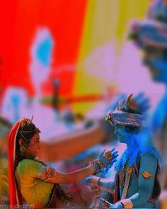 48211682 Image may contain: outdoor (With images) Radha Krishna Holi, Krishna Avatar, Krishna Flute, Lord Krishna Images, Radha Krishna Pictures, Krishna Photos, Shree Krishna, Krishna Art, Happy Holi Images