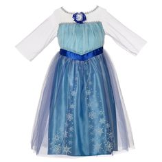 Disney Frozen Enchanting Dress – Elsa, 4-6X - See more at: http://halloween.florenttb.com/costumes-accessories/disney-frozen-enchanting-dress-elsa-46x-com/