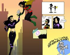 IN WHICH A TIME-TRAVELING MAR'I GRAYSON TROLLS THE FUCK OUT OF DAMIAN WAYNE. Because she's awesome.