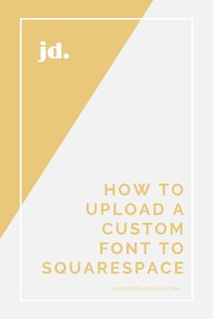 While Squarespace has an extensive list of fonts available, if your brand fonts isn't there it can be a bit frustrating. Luckily there's a simple bit of code you can use to upload your font. Font Face, Brand Fonts, Custom Fonts, Font Family, Online Business, Web Design, Coding, Lettering, Simple