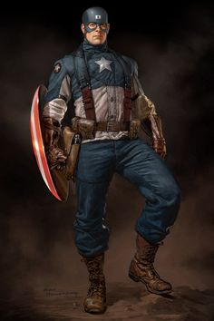 Ryan Meinerding - Marvel Captain America