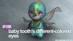 """#188 """"Baby Tooth's different-colored eyes."""" HOW DID I NOT NOTICE THIS BEFORE?!"""
