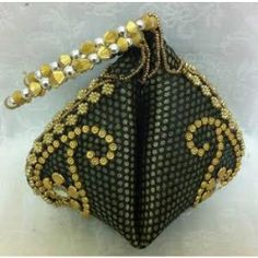 Online Shopping for Mehandi green ethnic potli bag Fashion Handbags, Fashion Bags, Potli Bags, Ethnic Wear Designer, Jute Bags, Wedding Bags, Coin Purse, Fancy, Wallet