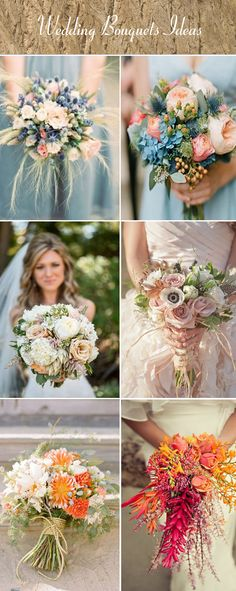 rustic wedding bouquet ideas for your big day