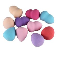 Makeup Foundation Sponge Blending Cosmetic Puff Powder Smooth Make Up Tool 4/ 10 PCS