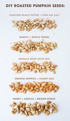 Roast Your Own Bulk Pumpkin Seeds As Fall Wedding Favors! Super delicious and totally easy recipes for toasting pumpkin seeds! Roast Your Own Bulk Pumpkin Seeds As Fall Wedding Favors! Super delicious and totally easy recipes for toasting pumpkin seeds! Seasoned Pumpkin Seeds, Flavored Pumpkin Seeds, Savory Pumpkin Seeds, Perfect Pumpkin Seeds, Homemade Pumpkin Seeds, Toasted Pumpkin Seeds, Roast Pumpkin, Cooking Pumpkin Seeds, Roasting Pumpkin Seeds Recipe